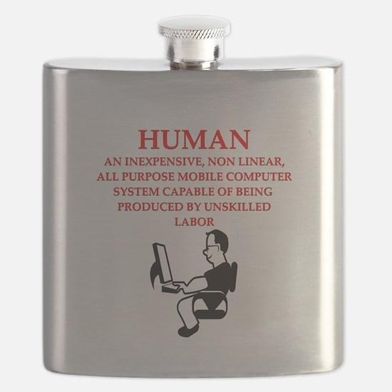 HUMAN Flask