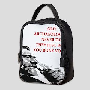 archaeology Neoprene Lunch Bag