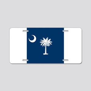 Flag of South Carolina Aluminum License Plate