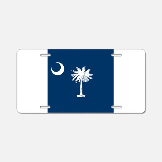 Flag of South Carolina Aluminum License Plate