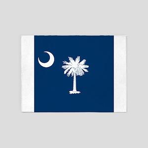Flag of South Carolina 5'x7'Area Rug