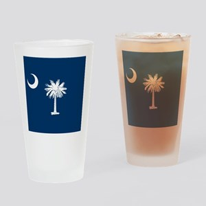 Flag of South Carolina Drinking Glass