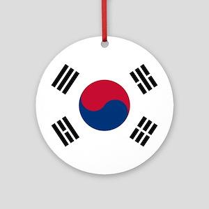 Flag of South Korea Ornament (Round)