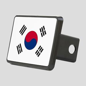 Flag of South Korea Rectangular Hitch Cover