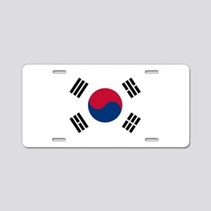 Flag of South Korea Aluminum License Plate
