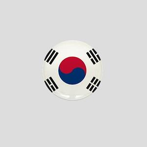 Flag of South Korea Mini Button