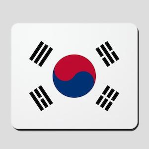 Flag of South Korea Mousepad