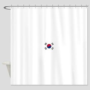 Flag of South Korea Shower Curtain