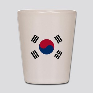 Flag of South Korea Shot Glass