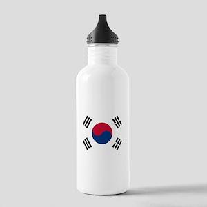Flag of South Korea Sports Water Bottle