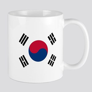 Flag of South Korea Mugs