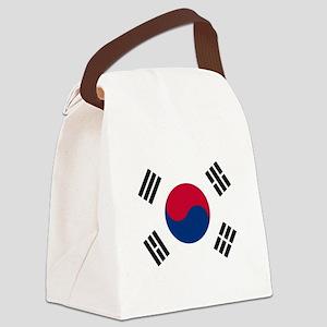 Flag of South Korea Canvas Lunch Bag