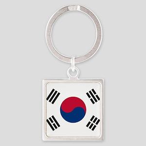Flag of South Korea Keychains