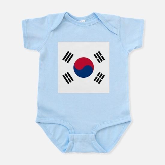 Flag of South Korea Body Suit