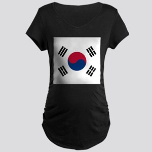 Flag of South Korea Maternity T-Shirt