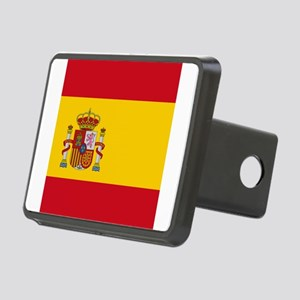 Flag of Spain Rectangular Hitch Cover
