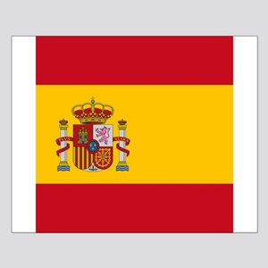 Flag of Spain Poster Design