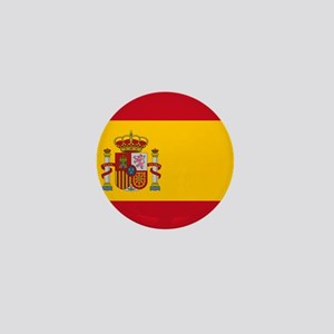 Flag of Spain Mini Button