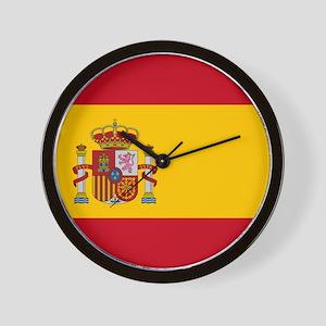 Flag of Spain Wall Clock