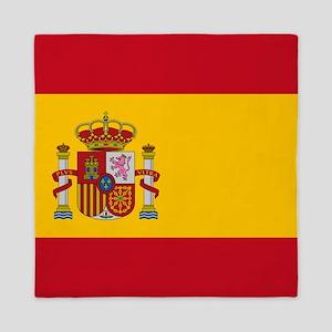 Flag of Spain Queen Duvet