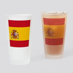 Flag of Spain Drinking Glass