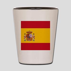 Flag of Spain Shot Glass