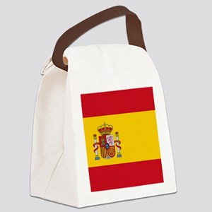 Flag of Spain Canvas Lunch Bag