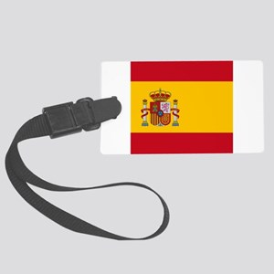 Flag of Spain Large Luggage Tag