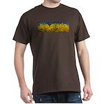 No Gmo Crop Circle 2 Dark T-Shirt