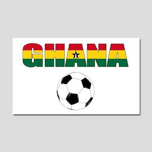 Ghana soccer Car Magnet 20 x 12