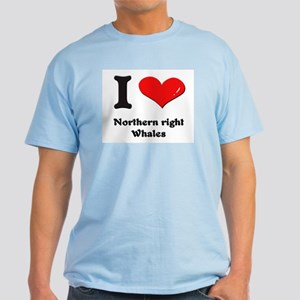 I love northern right whales Light T-Shirt