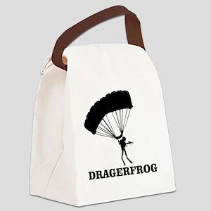 The DRÄGERFROG Canvas Lunch Bag