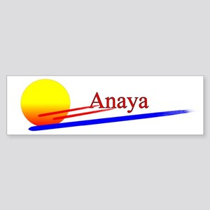 Anaya Bumper Sticker