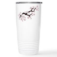 Gothic Cherry Blossoms Travel Mug