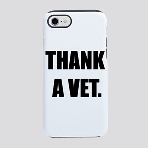THANK A VET iPhone 7 Tough Case