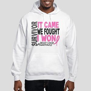 Breast Cancer Survivor 2 Hooded Sweatshirt