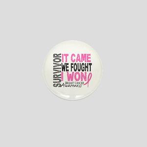 Breast Cancer Survivor 2 Mini Button