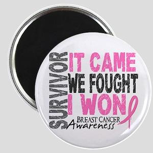 Breast Cancer Survivor 2 Magnet