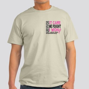 Breast Cancer Survivor 2 Light T-Shirt