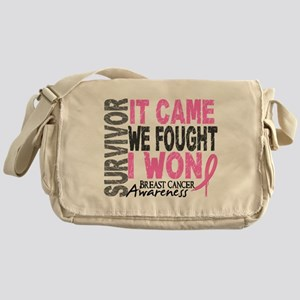 Breast Cancer Survivor 2 Messenger Bag