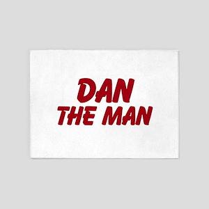 Dan The Man 5'x7'Area Rug