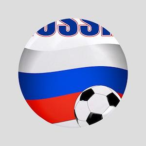 """Russia soccer 3.5"""" Button"""