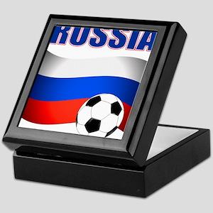 Russia soccer Keepsake Box