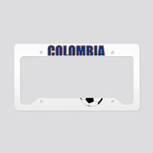 Colombia futbol soccer License Plate Holder