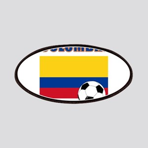 Colombia futbol soccer Patches