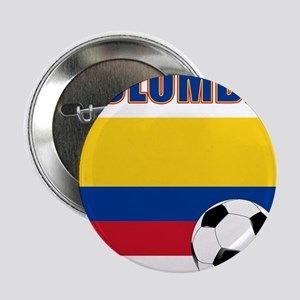 "Colombia futbol soccer 2.25"" Button"
