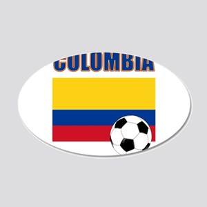 Colombia futbol soccer Wall Decal