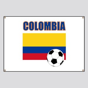 Colombia futbol soccer Banner