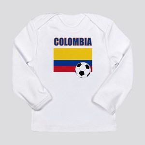 Colombia futbol soccer Long Sleeve T-Shirt