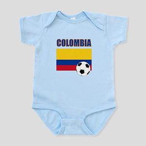 Colombia futbol soccer Body Suit